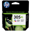 HP 305XL TRICOLOR CARTUCHO DE TINTA ORIGINAL 3YM63AE